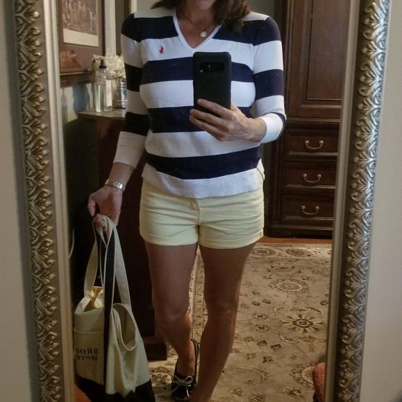 H&M Pants - H&M yellow jean shorts nwot